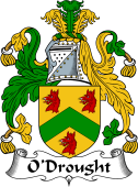 Irish Coat of Arms for O'Drought