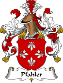 German Coat of Arms for Pfahler