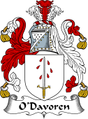 Irish Coat of Arms for O'Davoren
