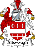 English Coat of Arms for Alborough