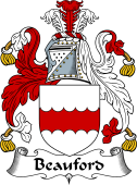 English Coat of Arms for Beauford