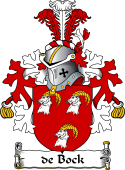 Dutch Coat of Arms for de Bock