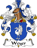 German Coat of Arms for Weyer