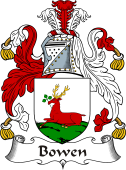 Irish Coat of Arms for Bowen