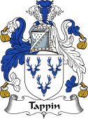 English Coat of Arms for Tappin