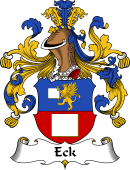 German Wappen Coat of Arms for Eck