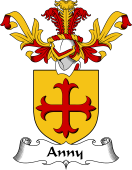 Coat of Arms from Scotland for Anny