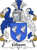Irish Coat of Arms for Gibson