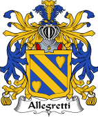 Italian Coat of Arms for Allegretti