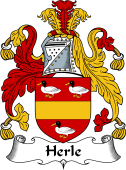 English Coat of Arms for Herle