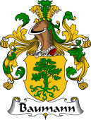 German Coat of Arms for Baumann