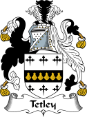 English Coat of Arms for Tetley or Titley