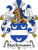 German Wappen Coat of Arms for Stockmann