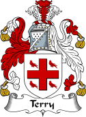 English Coat of Arms for Terry