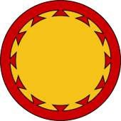 Circular Shield-Bordure Dovetailed