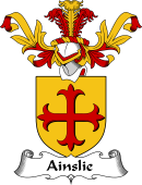 Coat of Arms from Scotland for Ainslie