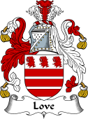 English Coat of Arms for Love I
