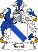 English Coat of Arms for Terrell