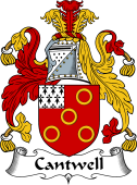 Irish Coat of Arms for Cantwell