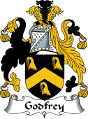 English Coat of Arms for Godfrey