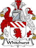 English Coat of Arms for Whitehurst