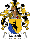 German Wappen Coat of Arms for Landeck