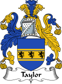 English Coat of Arms for Taylor II