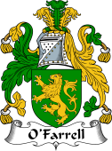 Irish Coat of Arms for O'Farrell or Ferrell
