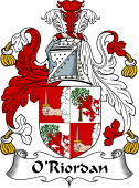Irish Coat of Arms for O'Riordan or Rearden