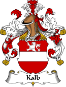 German Wappen Coat of Arms for Kalb