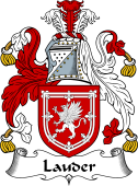 Irish Coat of Arms for Lawder or Lauder
