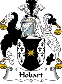 English Coat of Arms for Hobart