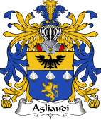 Italian Coat of Arms for Agliaudi
