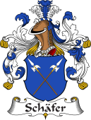German Coat of Arms for Schäfer
