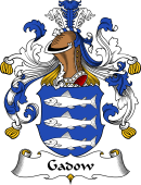 German Wappen Coat of Arms for Gadow
