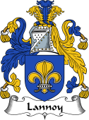 English Coat of Arms for Lannoy