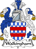 English Coat of Arms for Walkingham