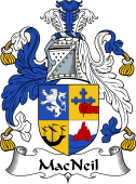 Irish Coat of Arms for MacNeil