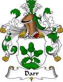German Coat of Arms for Darr