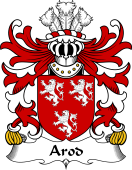 Welsh Coat of Arms for Arod (ap Owain ab Edwin ap Gronwy)
