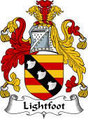 English Coat of Arms for Lightfoot
