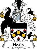 English Coat of Arms for Heald