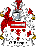 Irish Coat of Arms for O'Bergin
