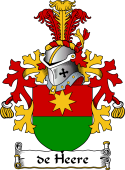 Dutch Coat of Arms for de Heere