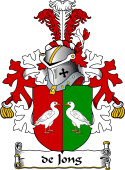Dutch Coat of Arms for de Jong