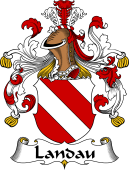 German Wappen Coat of Arms for Landau