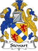 Irish Coat of Arms for Stewart