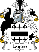 English Coat of Arms for Layton I