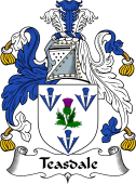 English Coat of Arms for Teasdale