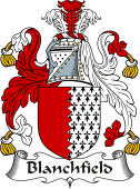 Irish Coat of Arms for Blanchfield